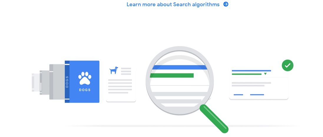 đưa nội dung lên công cụ tìm  kiếm